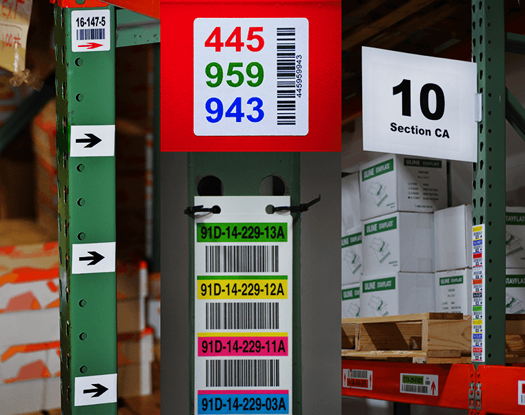Aisle, Check Digit, and Arrow Labels plus Signage and Placards