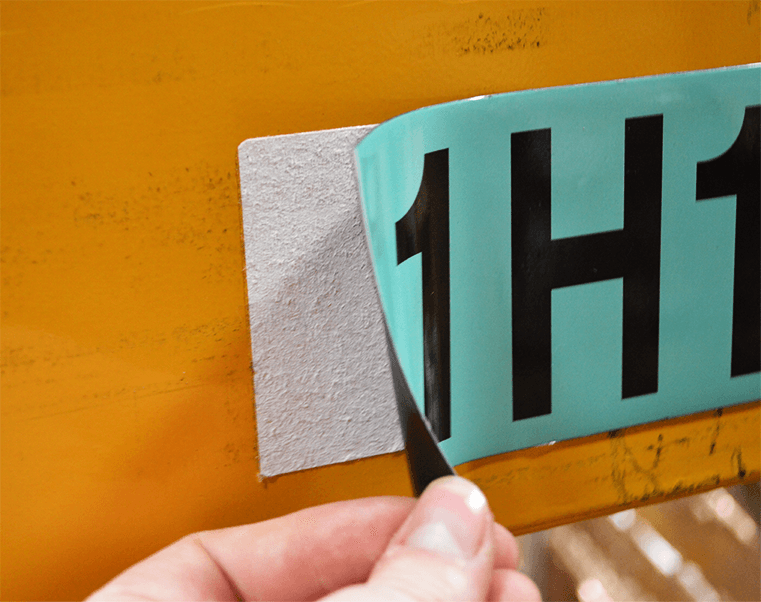 Magnetic labels make it easy to reconfigure your warehouse